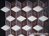 Ice Crack Series Ceramic Crystal Mosaic