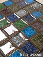 Ceramic Combine Crystal Glass Mosaic