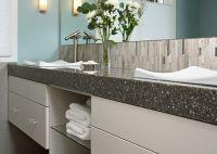 Quartz Countertop for Washrooms