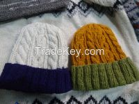 Cable Knit Winter Caps