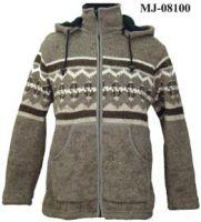 Woolen Knitted Hoody