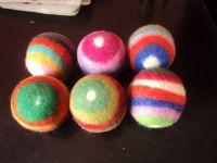 Big Felt balls