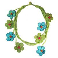 Felt Flower Necklacesa