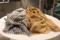 Cashmere Checks Stole-New Arrival