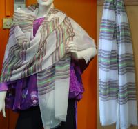 Stripe Summer Stole