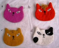 Felt Animal Coin Bag