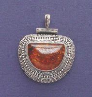 Silver Charm Pendants