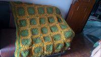 Hand knitted Woolen Blanket