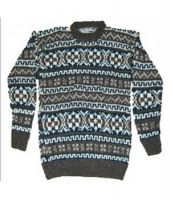 Jacquard Knit Sweater-New Arrival