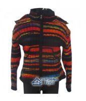 Stripes woolen Hoody-New arrival