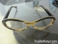 2012 New Fashion Yellow Latest Buffalo Frames Ox Horn Optical Frames