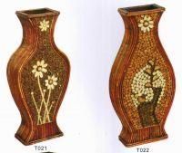 Rattan Vase