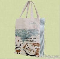 Printed Pigs Cotton Shopping Bag