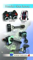 PTO's and pumps for mobile hydraulic applications.