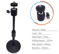 Mobile Phone Stand Projector Stand Desktop Support Camera Tripod