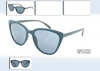 Fashion sunglasses with 100% UV protection lens, available in various colors and sizes