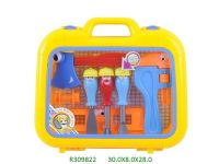 cartoon tool toys play set
