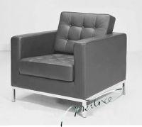 Florence Knoll Italian Leather Sofa