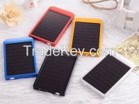 2600mAh Solar Power Bank with Multi Color for iPhone, iPad, Samsung Galaxy, Note, Android Tablet PC, HTC, Blackberry, etc