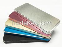 5000mAh Aluminum Aloy Power Bank Multi Color Using Li-polymer cell for iPhone, iPad, Samsung Tablet PC, Android Phone, Digital Camera, PDA