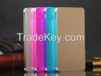10000mAh metal case power bank with li-polymer cell for iPhone, iPad, Samsung galaxy, note, android phone, smartphone