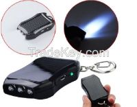 Keychain Solar Charger 1200mAh for iPhone, Samsung Galaxy, Android smartphone