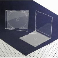 5.2mm Slim CD Case, Single, With Matte Clear Tray
