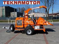 Wood chipper Skorpion 350 SDB - Tekanmotor
