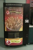 Food French Fry Vending Machine