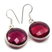 Pink Quartz 925 Sterling Silver Earring PG-103745