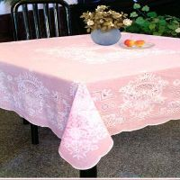 PVC Tablecloth and Doily