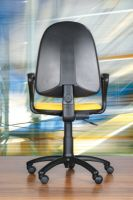 Operator chair with lumbar support