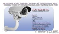 Outdoor Infrared IR IP Network POE Camera