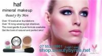 100% mineral makeup - loose, pre packed ~ private label mineral makeup