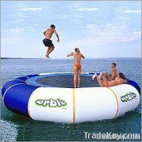 5 meter floating inflatable water trampoline