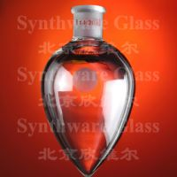 Lab Glassware - Flask, Pear Shape, Single Neck