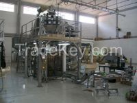 Automatic Fresh Vegetable Packaging Machine System