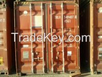 used containers for sale in egypt