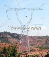 transmission steel tower