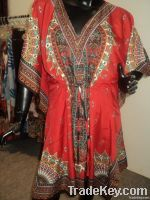 womens kaftan in polyester printed fabrics