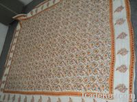 quilts king size cotton printed hand block