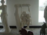 sculpture and shadow carving