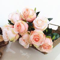 OEM design decorative multicolor silk velvet rose flower cheap silk artificial rose for office home hotel artificial decoration