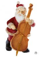 OEM hand painted personlized polyresin christmas ornament custo figurine resin christmas ornaments