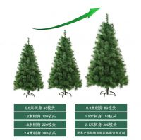 New desigh 0.6-2.4meter artificial Christmas pine tree with solid metal legs perfect for indoor and outdoor holiday decoration