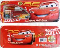 Disney Pixar Cars McQueen Iron Pencil Box Set 6 in 1