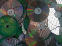 PC CD metalized disc scrap