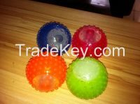 waterproof LED flash pet ball