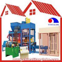 Concrete Hollow Block Brick Making Machine QTJ10-15 / Concrete Hollow Block Brick Making Machine Line QT10-15