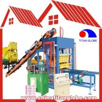 QTJ4-15 Concrete Hollow Block Brick Making Machine QTJ4-15 / Concrete Hollow Block Brick Making Machine Line QT4-15